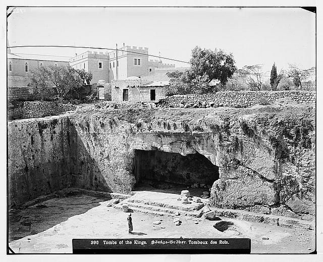 Jerusalem (El-Kouds). Tombs of the Kings.