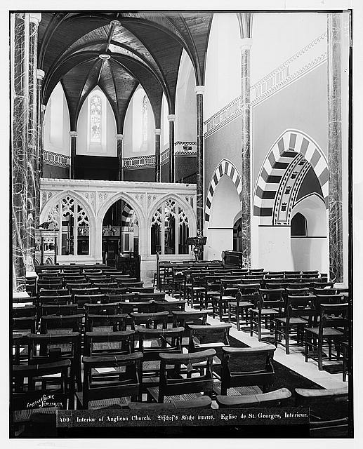 Jerusalem (El-Kouds). The Anglican Church, interior