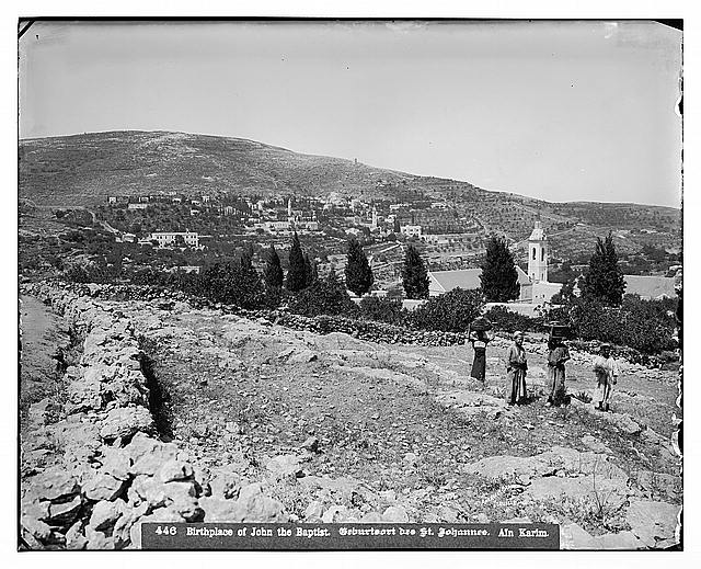 Environs of Jerusalem. 'Ain Karim, new Russian settlement