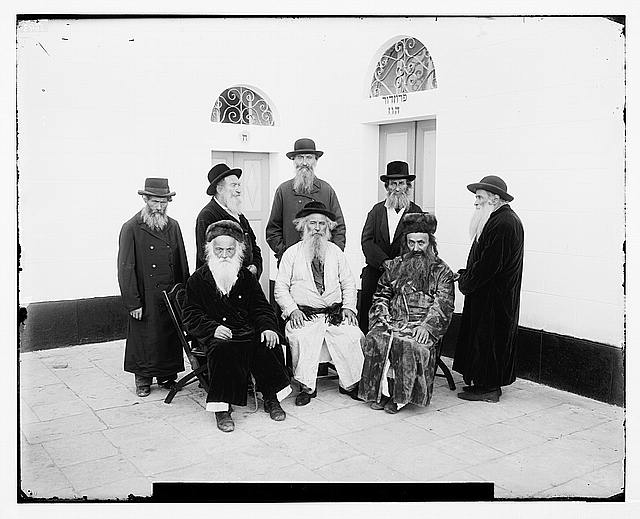 Costumes and characters, etc. Jews of Jerusalem