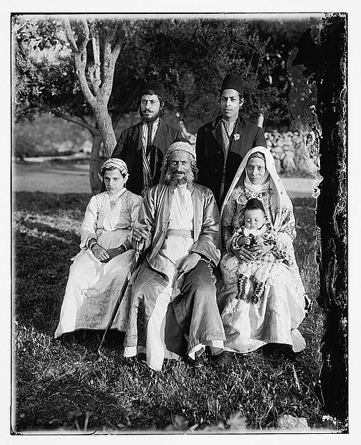 Costumes and characters, etc. Group of Yemenite Jews
