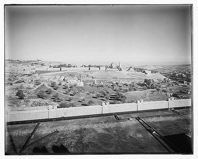 [[View from the King David Hotel, Jerusalem, 1938]