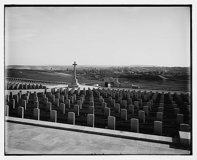 Military Cemetery on Mt. Scopus, Jerusalem, #1
