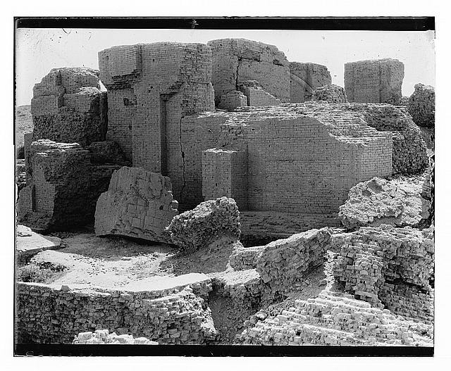 Iraq. Babylon, the Istar [i.e., Ishtar] Gate?