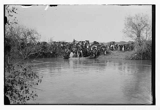 Russian epiphany ceremony, Jordan River