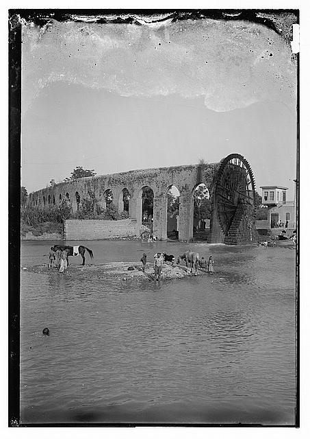 Water wheel, Hama