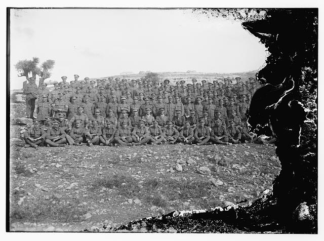 Battery of the 53rd division, 1918