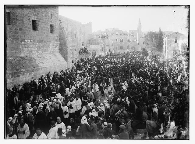 Christmas in Bethlehem, religious procession