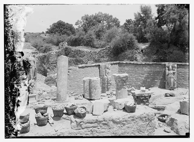 Ruins at Askalon, June 1921