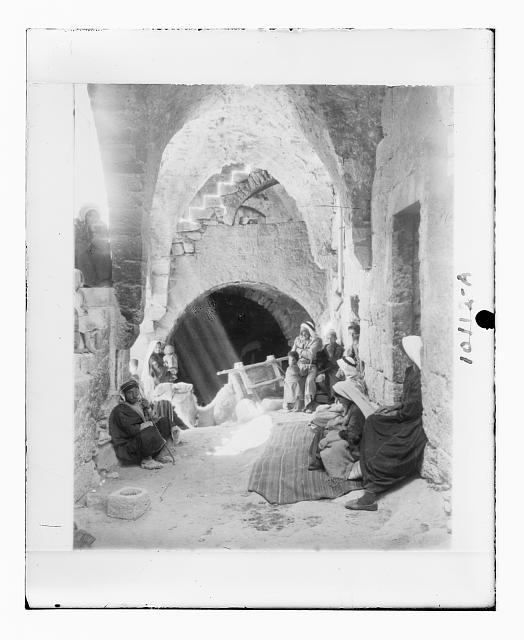 [Interior of a peasant home at Beit Sahur]