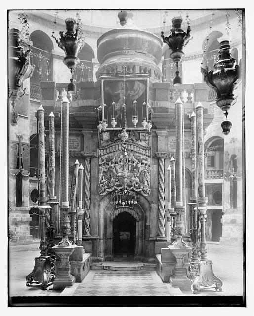 [Church of the Holy Sepulchre. The tomb]