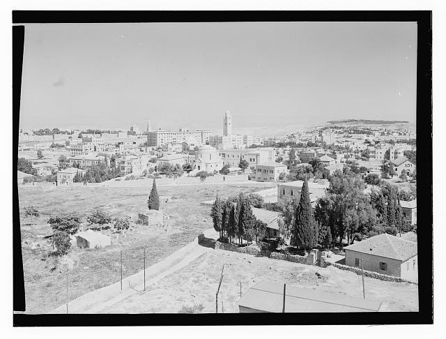 Jerusalem, new city