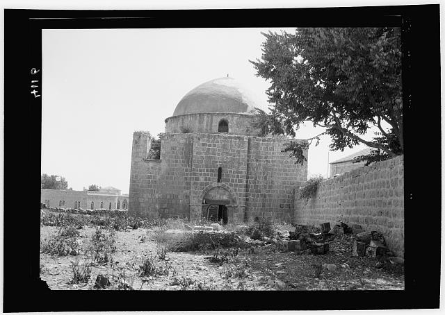 Palestine events. The 1929 riots, August 23 to 31. Mosque desecrated through Jewish retaliation. The Awkashi mosque near a Jewish quarter of Jerusalem