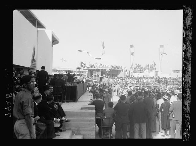 Opening of Levant Fair. Tel-Aviv Ap[ril] 30, 1936. General views