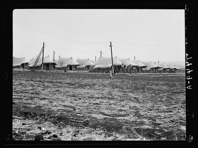 I.P.C. [i.e., Iraq Petroleum Company] camp. Closer view