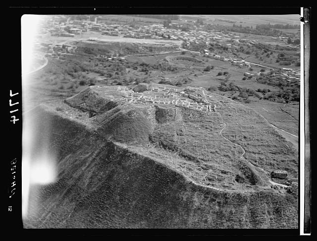 Air films (1937). Beisan mound