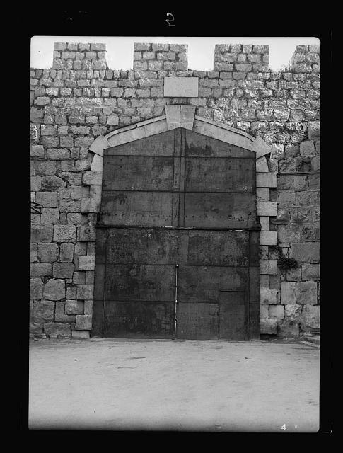 Disturbance 1938. New gate closed