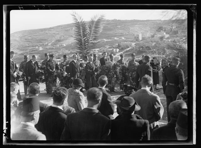 Disturbance 1938. Funeral of the late Mr. Starkey