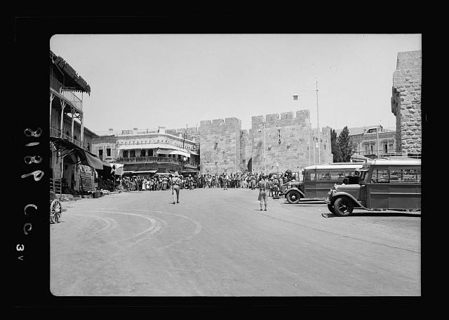 Aug. 26, day of big bomb in Jaffa. Military search for arms. Black Watch at Citadel [Jerusalem]