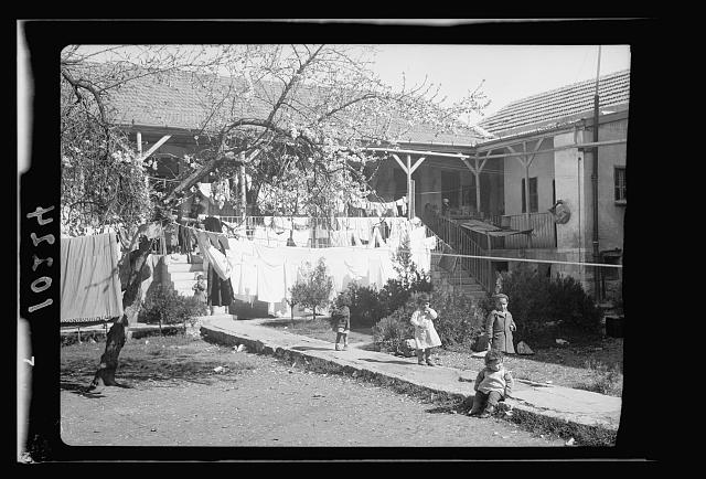 Jewish homes in tenement bldg., Bokhara [i.e., Bukhara] Quarter