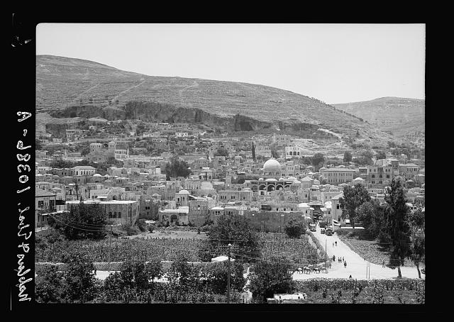 Nablus & Ebal, July 13 & 14, 1938