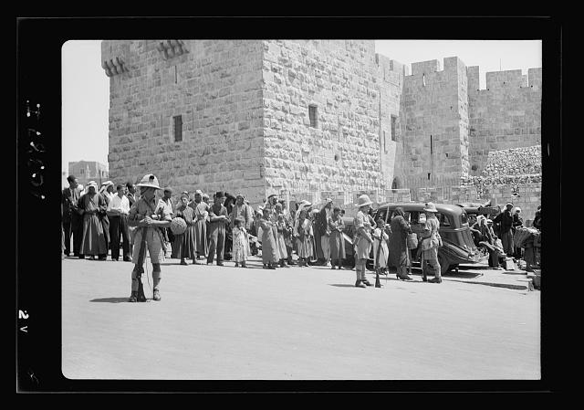 Siege of Jerusalem, Oct. 22, '38