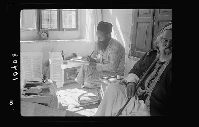 Yemenite scribes of the Torah, the father only, Shlomo Washadi