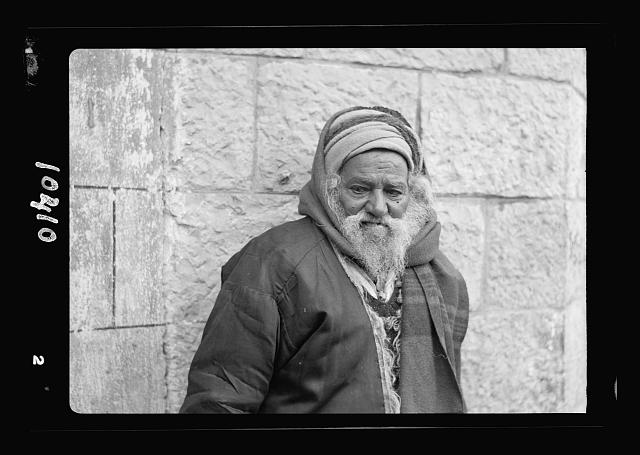 Study of an old Yemenite Jew, Abram Ajwar