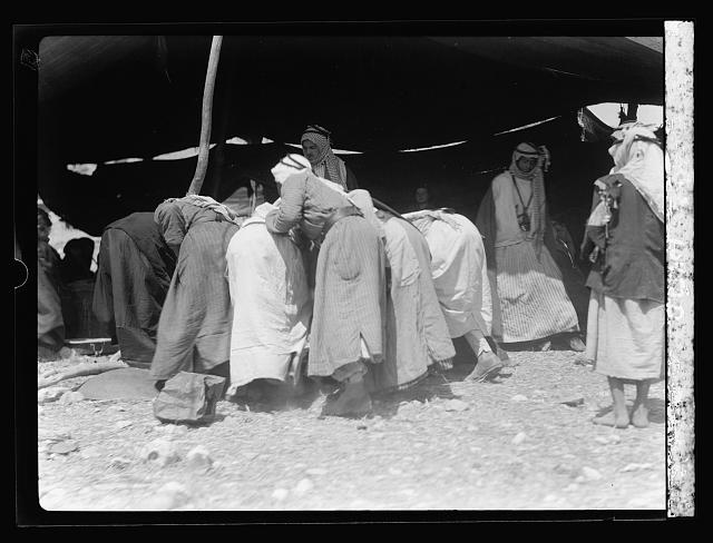 Bedouins, some at Shunet Nimrin, etc., April 25, '35