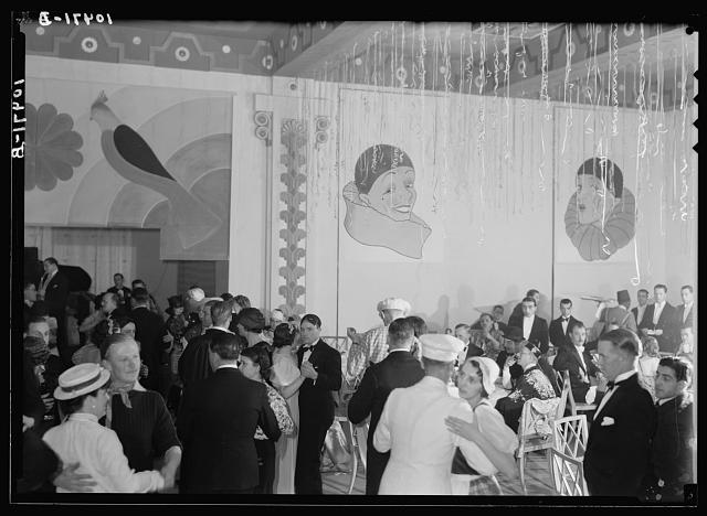 Shrove Tuesday, Feb. 21, 1939 celebration in King David Hotel