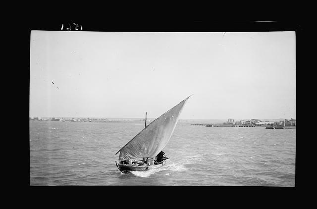 To Sinai via the Red Sea, Tor, and Wady Hebran. Sailing vessel from Tor