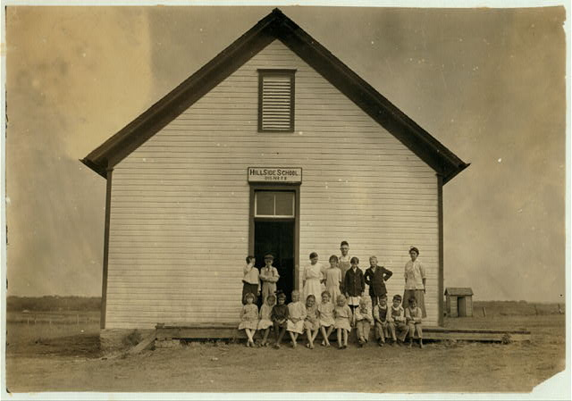 Hillside School #58; Miss Blanche Calyer, Teacher. Opened September 11th--8 months term. Enrollment 20, Average attendance 18 (last year: enrollment 43, average attendance 36). 15 others are out for cotton picking and may be out a month more. Teacher says families are mostly tenants, but she thinks they need help of children during cotton picking season.  Location: Comanche County, Oklahoma