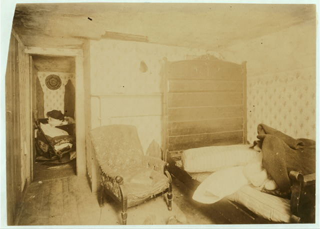 (For Child Welfare Exhibit 1912-13.) Housing conditions, Elm Street, Pawtucket, R.I. Nov 25, 1912.  Location: Pawtucket, Rhode Island.