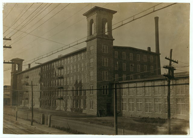 Richard P. Borden Mill.  Location: Fall River, Massachusetts