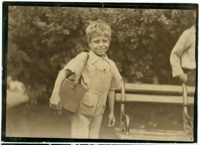 One of the very young shiners at Newark, N.J. - August 1st, 1924.  Location: Newark, New Jersey.