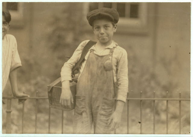 One of the ten year old shiners in Hartford, Conn. - August 25th, 1924.  Location: Hartford, Connecticut.