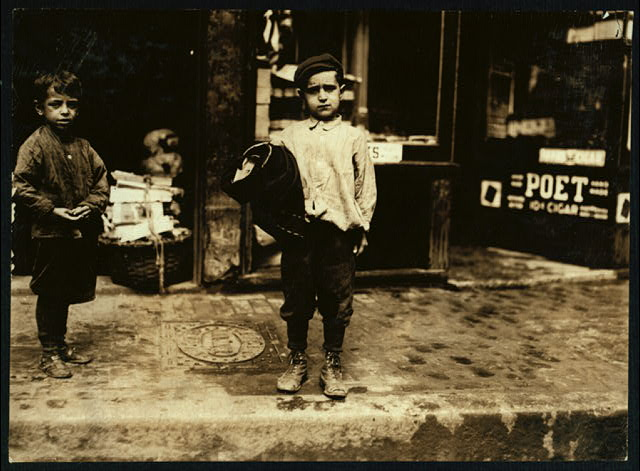 James Danna, 38 [?] Charter Street. 7 years old.  Location: Boston, Massachusetts.