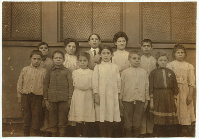 Immigrant children, Washington School