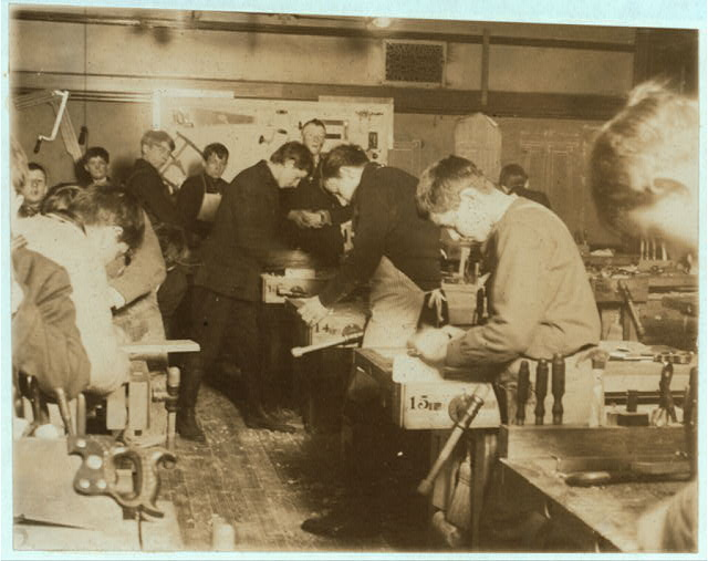 The Shop, Seneca Street Vocational School.  Location: Buffalo, New York (State)