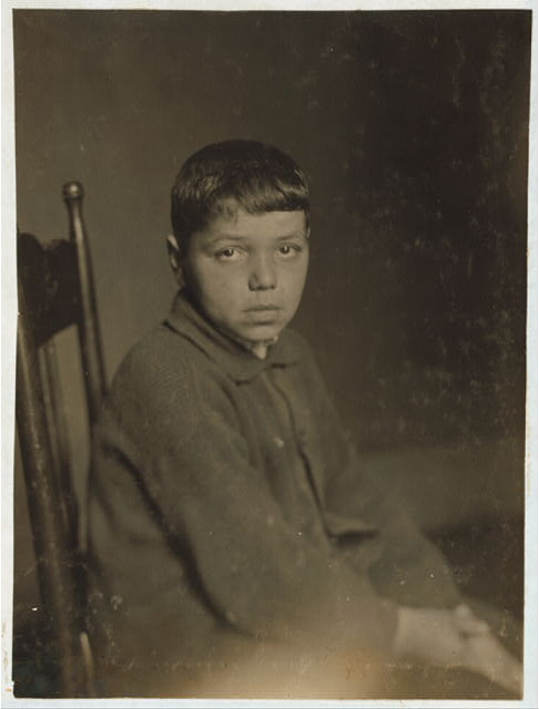 [Applying for certificate - Menuel Cabral - Portuguese. 15 years old Oct. 9, 67 Aetna St. Been spinning 1 month Laurel Lake and sweeper 1 month American Linen. Now to be a braider at Estes Mill.]  Location: Fall River, Massachusetts.