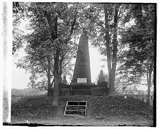 Bull Run, Henry Monument Henry Hill, [Centreville, Virginia]
