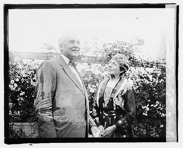 Mr. & Mrs. Warren G. Harding