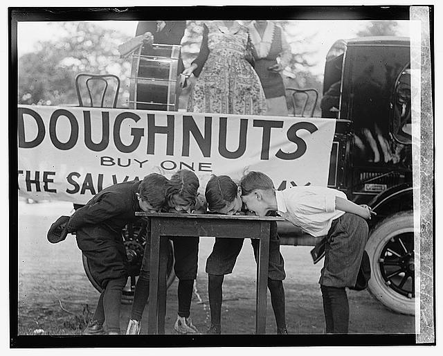 Doughnut eating contest, 5/20/22
