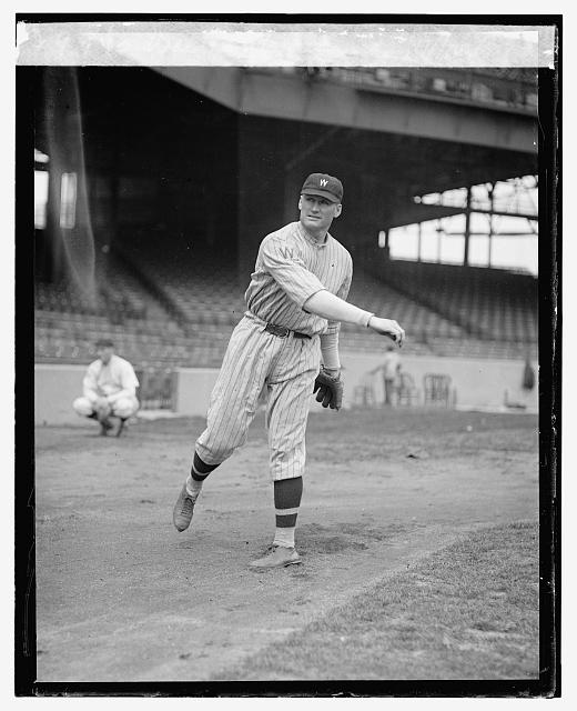 Walter Johnson, 4/11/24