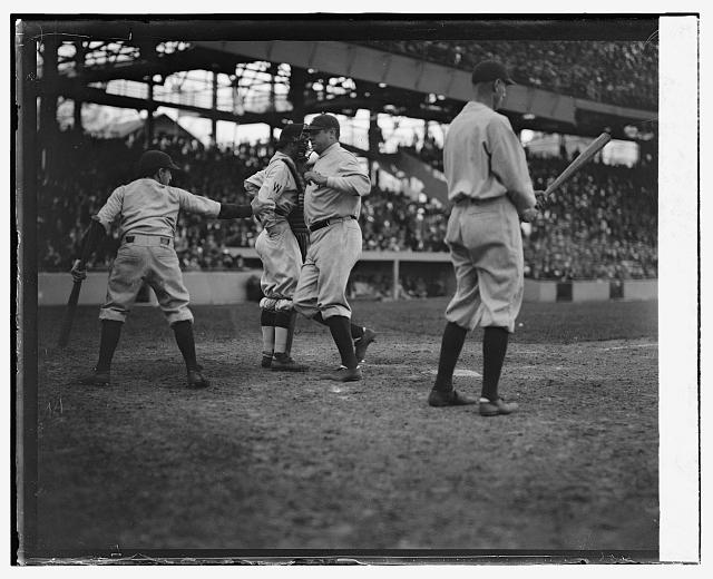 Ruth scoring 1st home run, 4/21/24