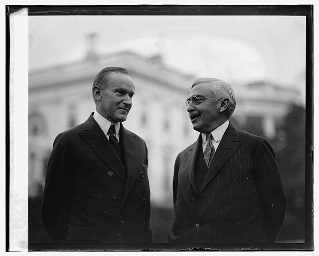 Pres. Coolidge and Wm. M. Butler, [11/6/24]