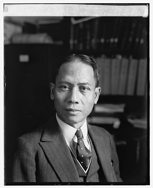 Senor J.G. Guerrero, Phillippine Commissioner