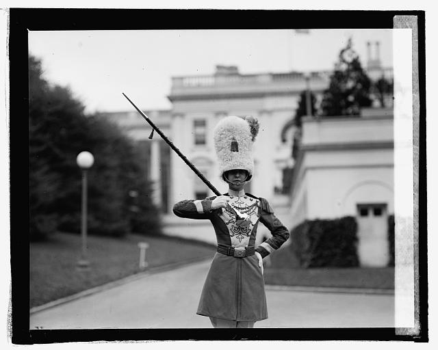 Miss Helen Montgomery of Druy High School Band, 4/29/25