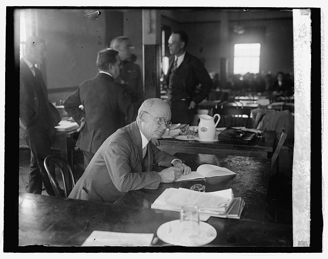 Alexander H. Taft, official court reporter at Mitchell Court Martial, 10/29/25
