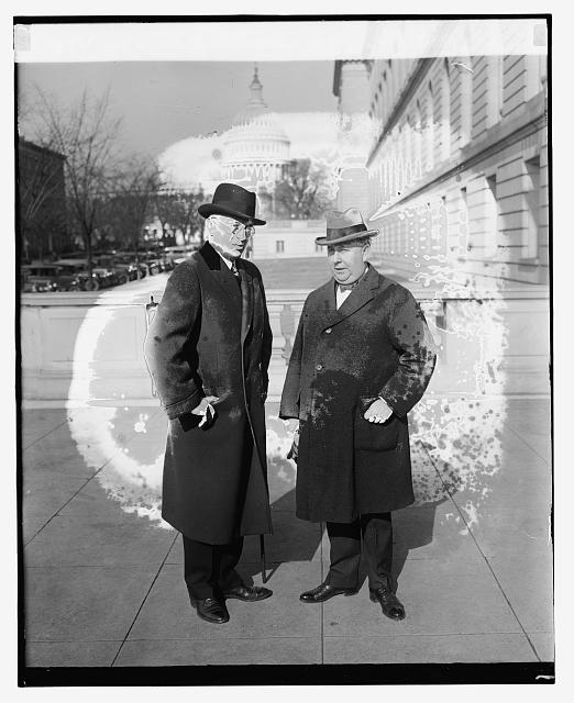 Col. Lincoln C. Andrews & Roy G. Haines, 1/11/27